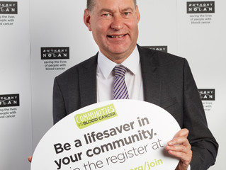 Murdo praises Mid-Scotland lifesavers on Anthony Nolan register