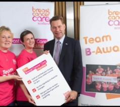 Raising awareness for Breast Cancer Care Scotland