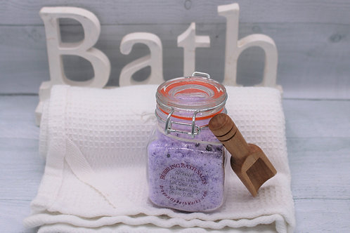 Bubbling Bath Salts Calming Lavender