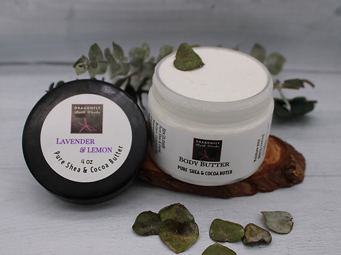 Body Butter-Lavender & Lemon