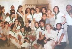 De fiestas en Logrosán.