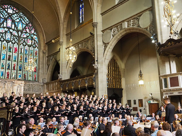 Islington Choral Socety, Jenny Stafford, Kate Howden, Hertfordshie Chamber Orchestra 2 Jun 2019 Holy Trinity Sloane Street London SW1