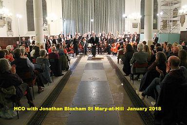 HCO with Jonathan Bloxham St Mary-at-Hill January 2018