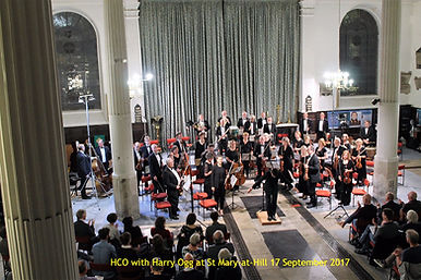 HCO with Harry Ogg at St Mary-at-Hill September 2017