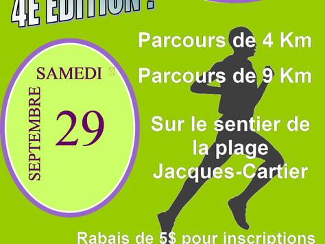 INSCRIPTIONS OUVERTES: Course/Marche en Symbiose 4e édition