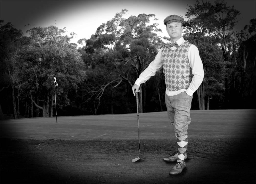 proud golfer