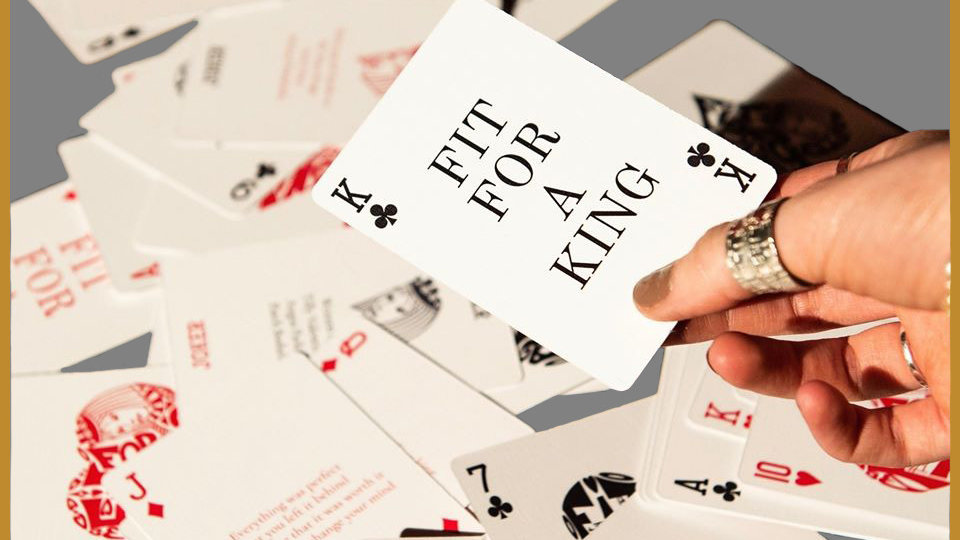 Fit for a King Playing Cards