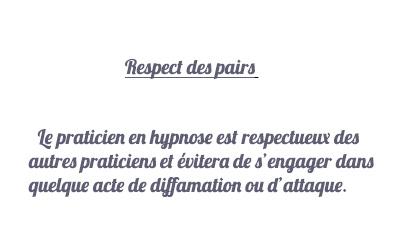 respect  pairs