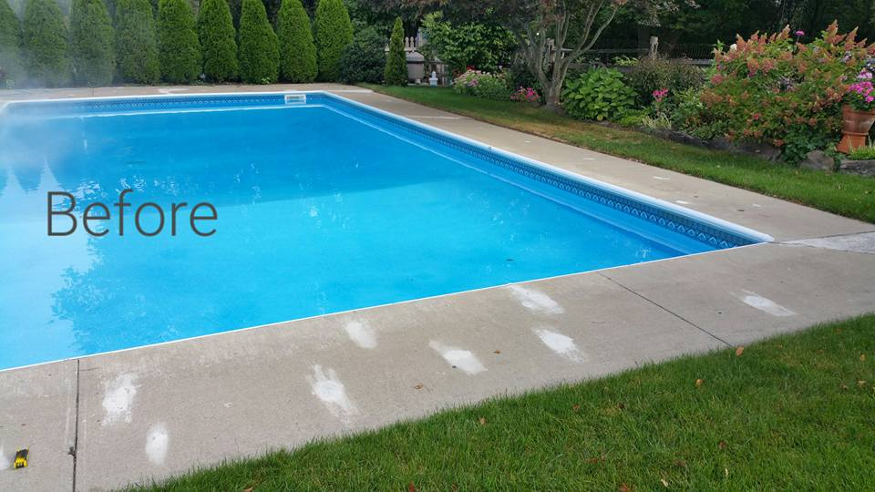 Pool Before