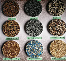 Recycled Rubber Stone Options