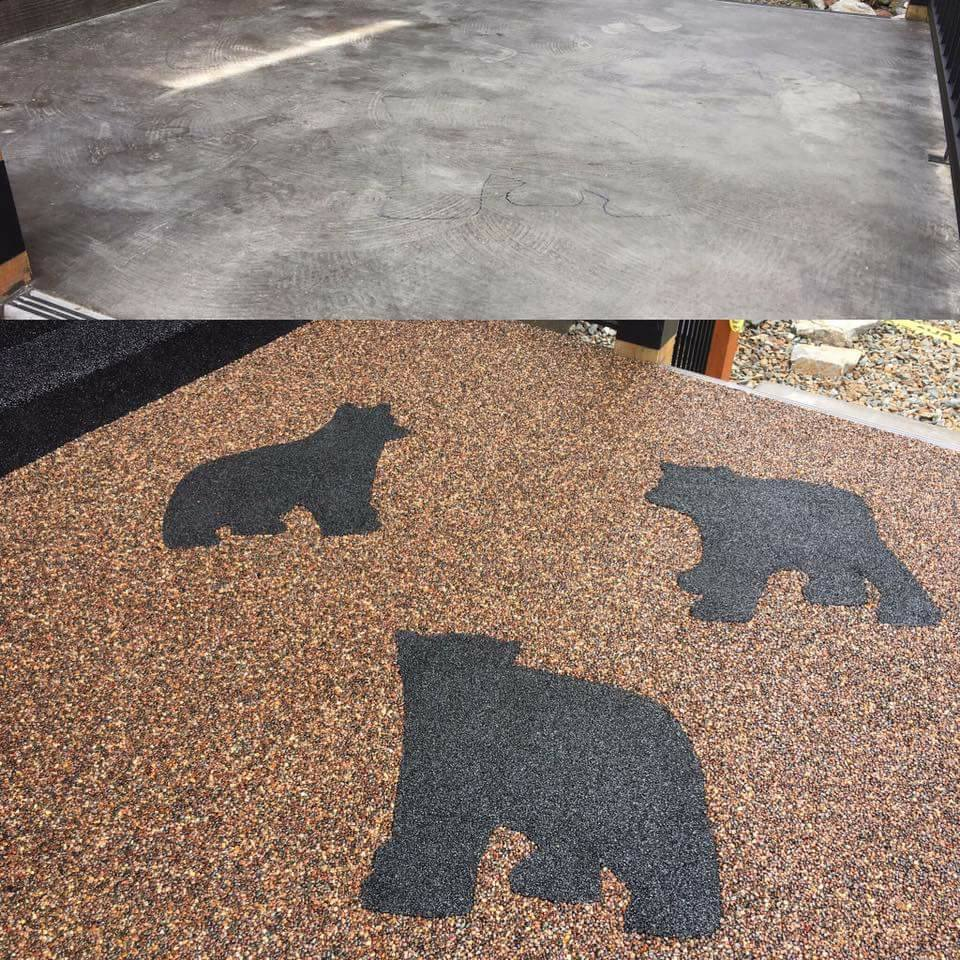 3 bears inlay
