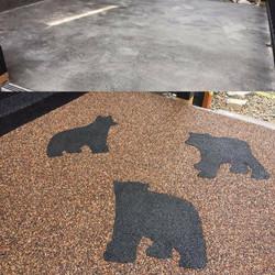 3 bears inlay