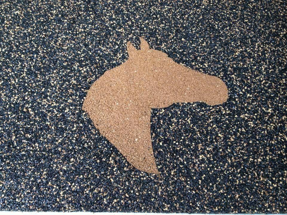 Horse Inlay