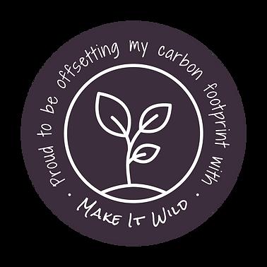 Make it Wild Carbon Offset Badge HighRes