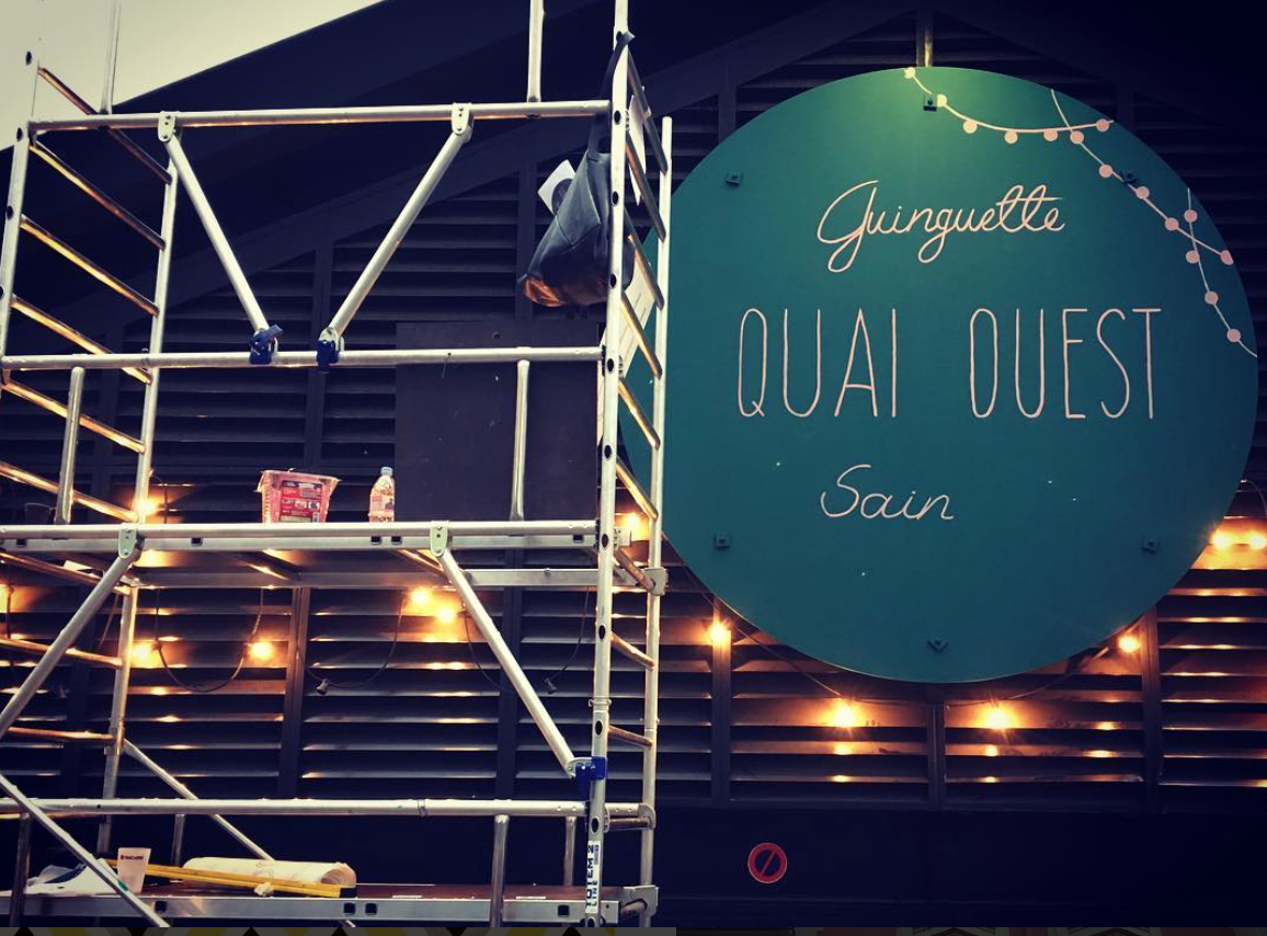 Quai Ouest / Paris / 2017.