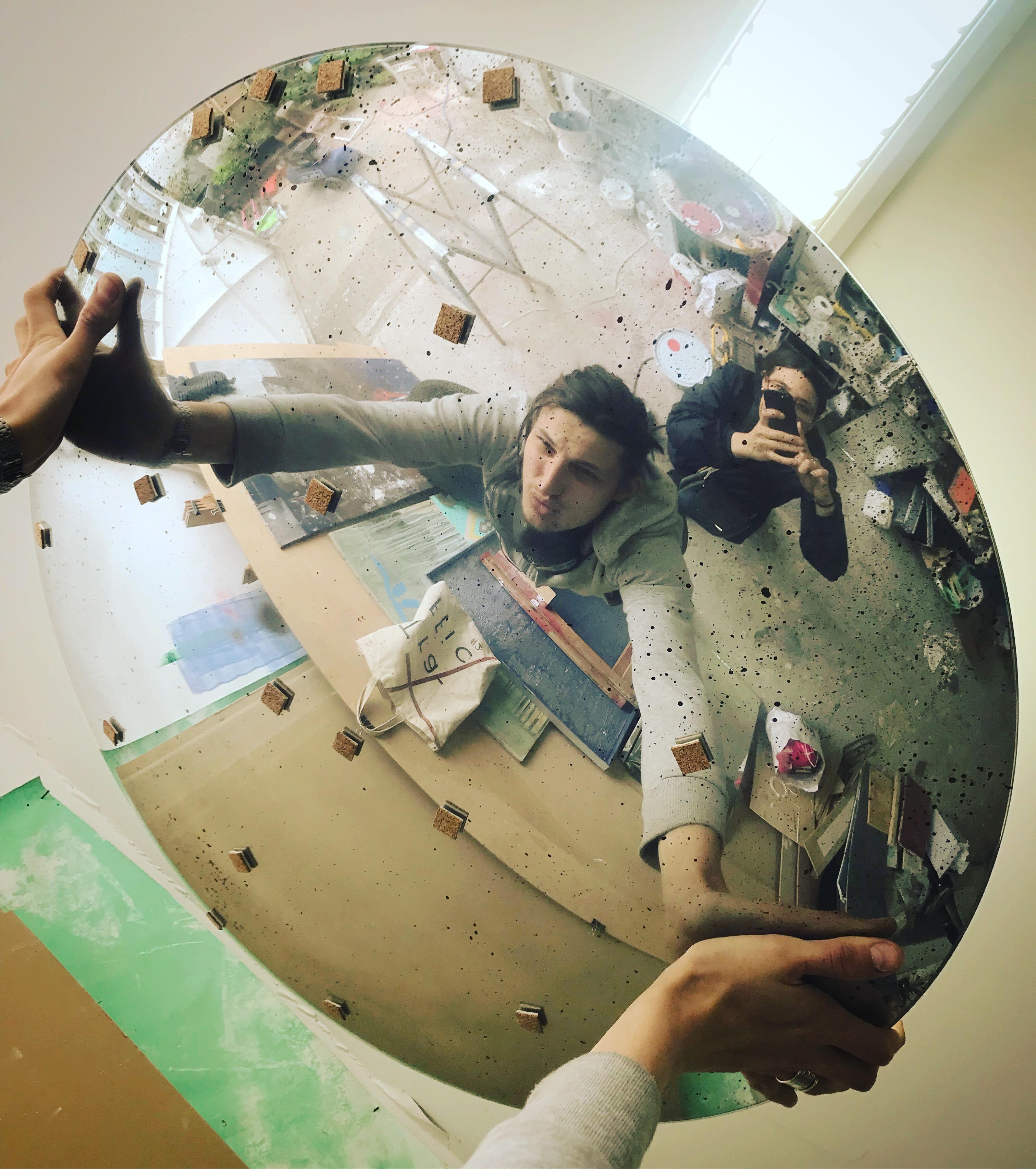Sorcière Miroir Bombé