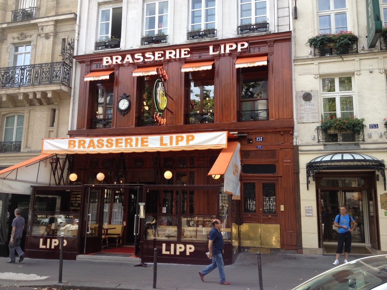 Brasserie Lipp Paris6