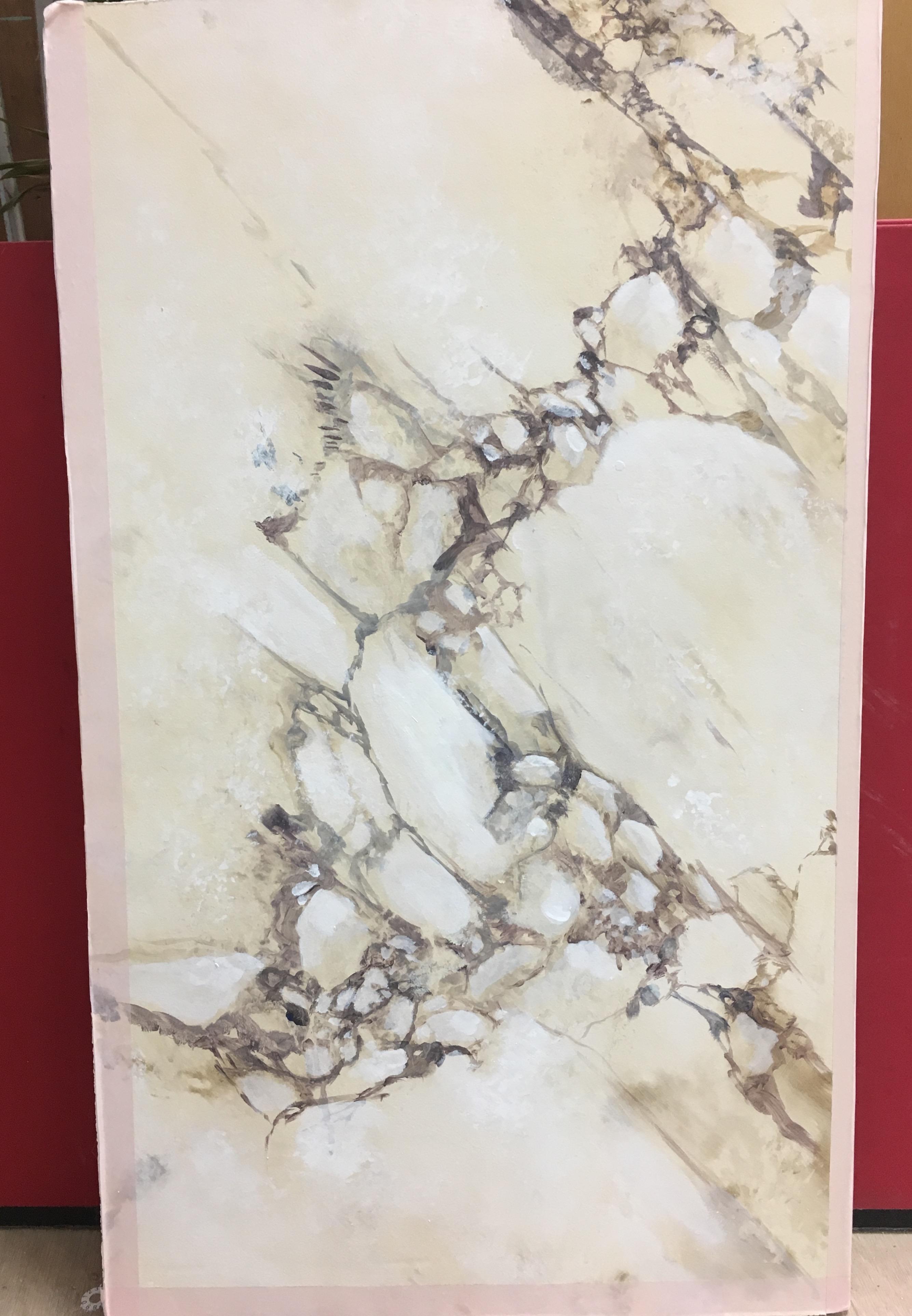 Echantillon de marbre.