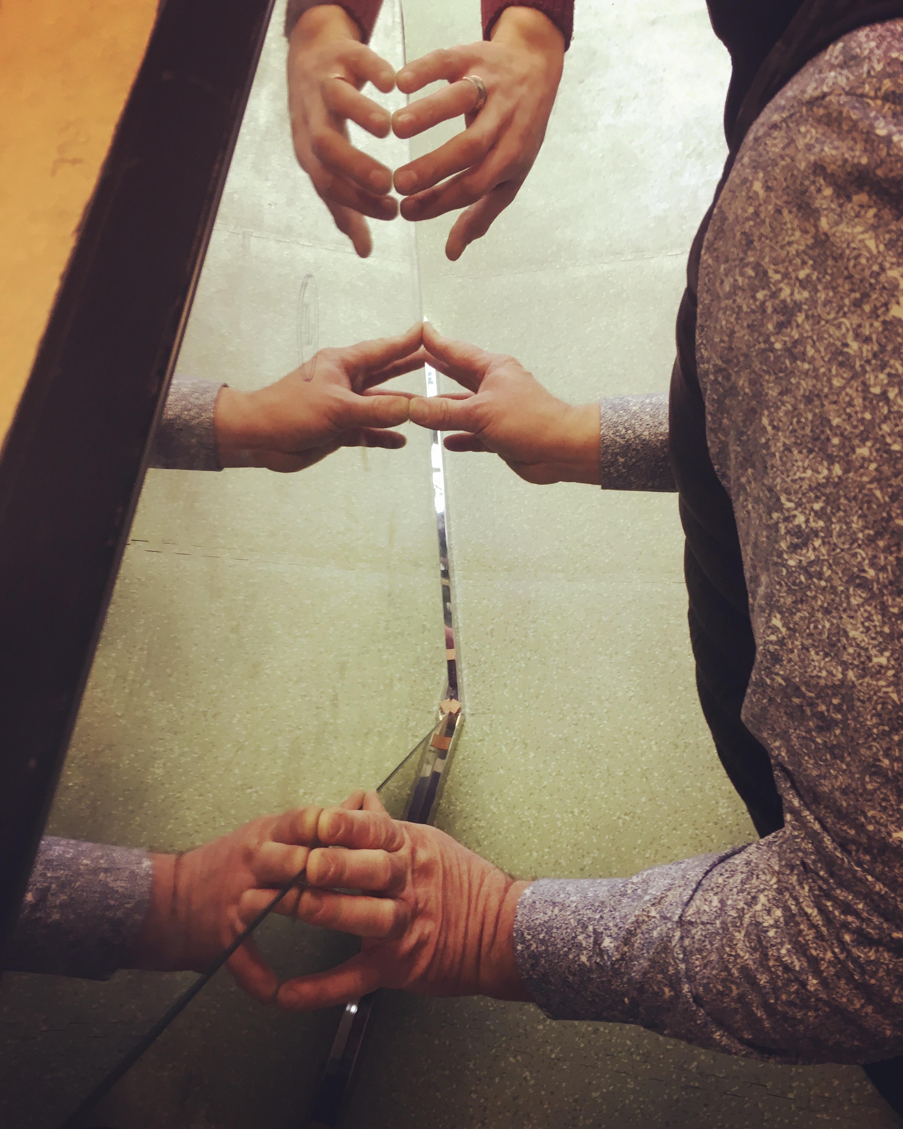 Marqueterie de miroirs