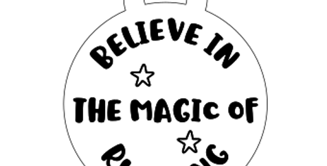 Believe in the Magic of Running - Medal