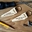 Thumbnail: Wooden Keyrings (Puzzle, Saw, Star)
