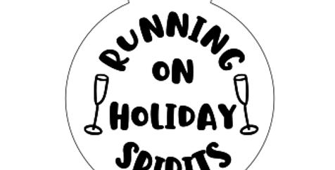 Running on Holiday Spirits - Medal