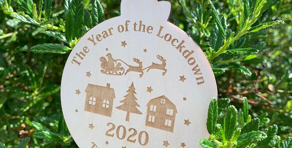 Lockdown Bauble 2020 Christmas