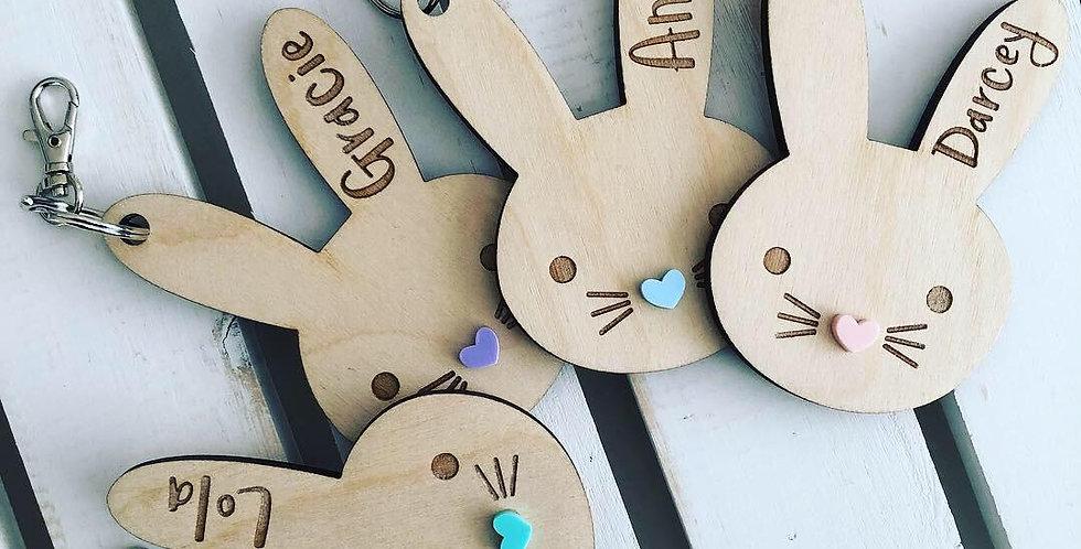 Bunny Keyring/Bag Charm