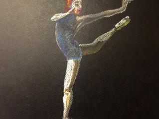 Bailarinas, a forma da música.