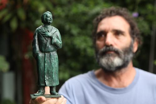 Honoré de Balzac - Estatueta em bronze