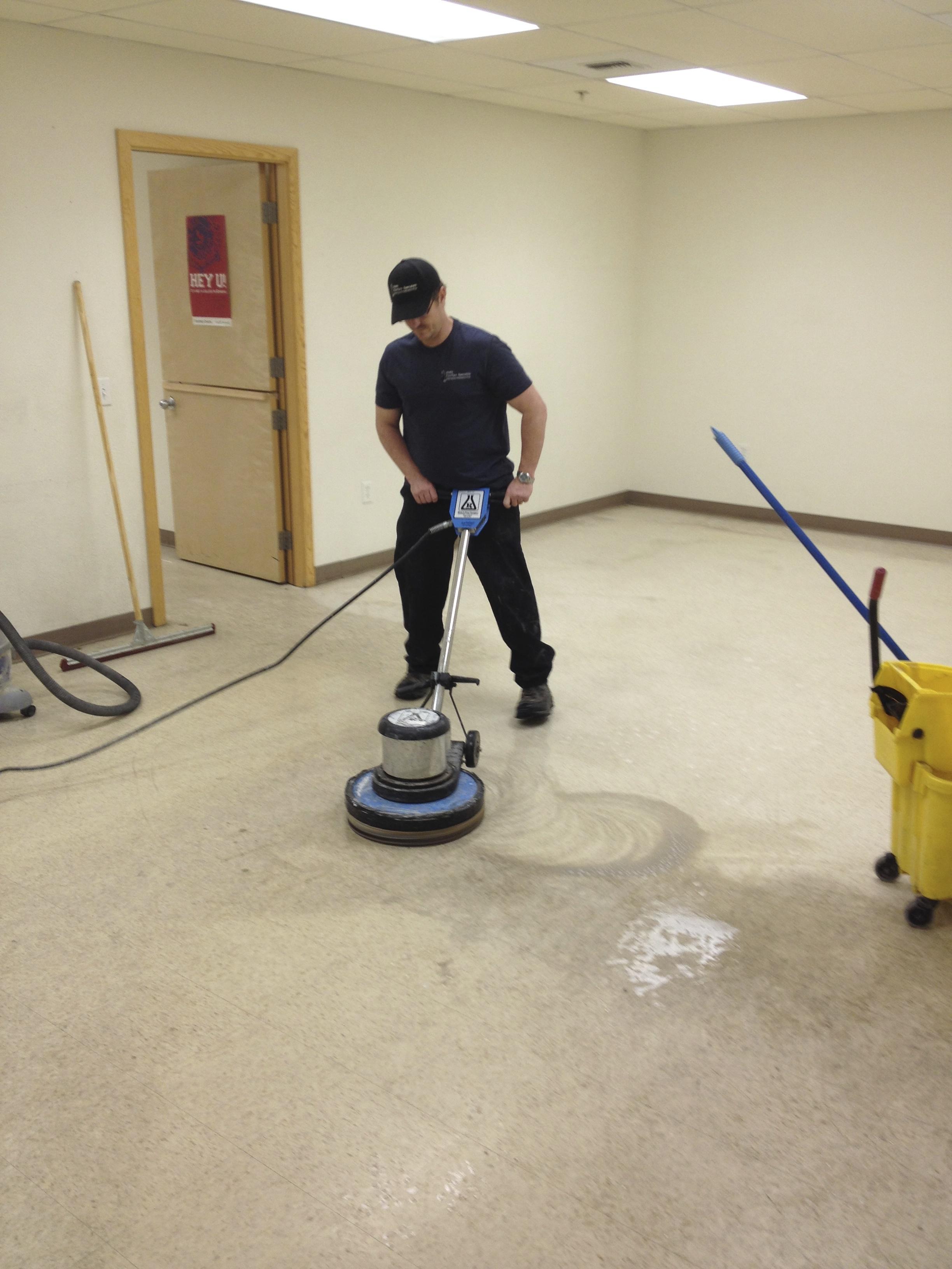 Fairbanks floor restoration