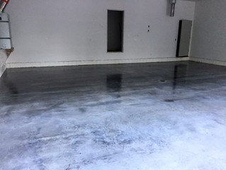 Epoxy paint your garage concrete floor Fairbanks, AK