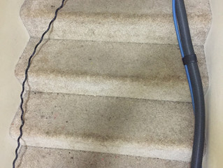 Dirty Carpeted Steps?