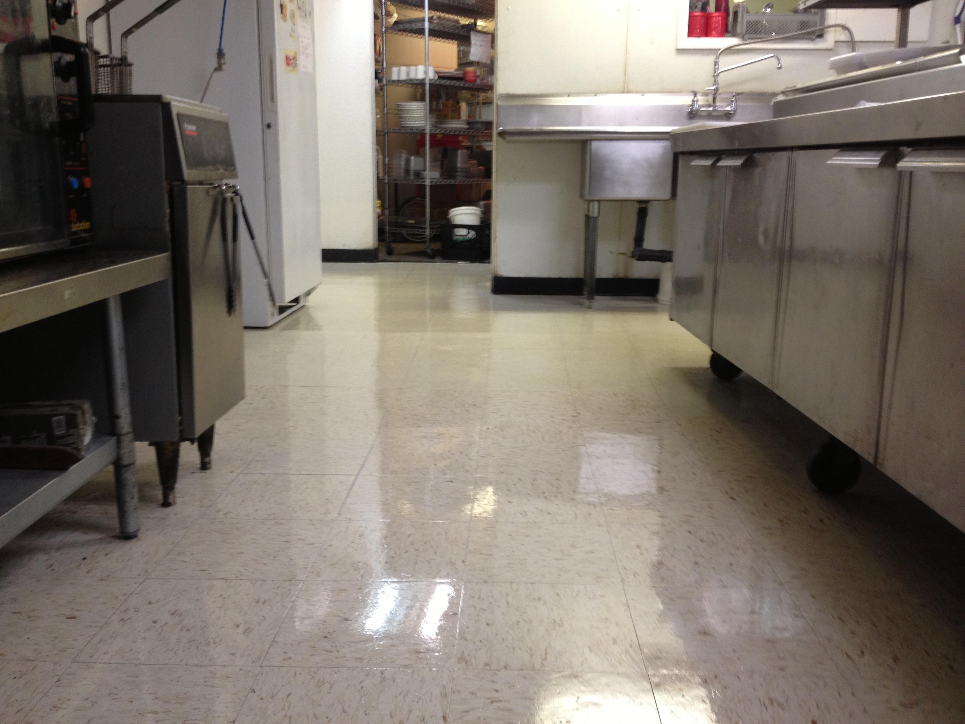 Got an old vinyl floor?