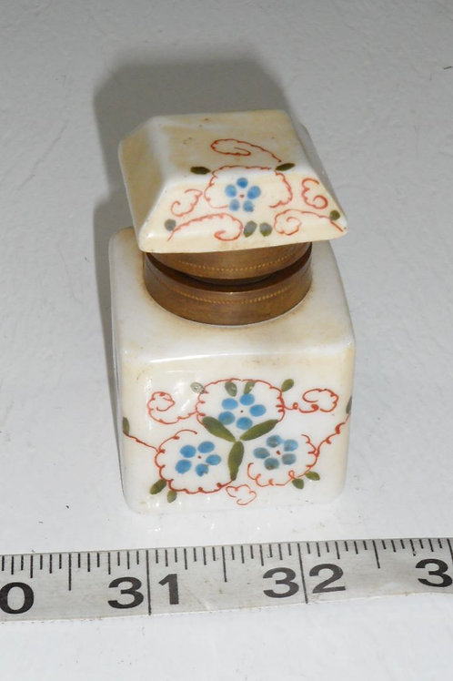 Ink Well Ceramic Bottle with Lid