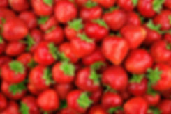 Strawberry. Fresh organic strawberries m