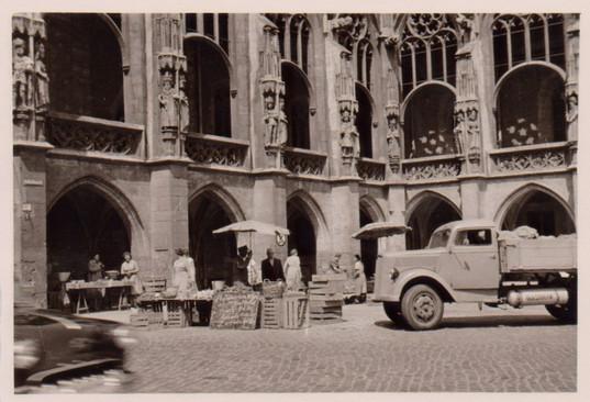 Unsere Anfänge auf dem Altstadtmarkt