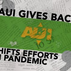AUI Gives Back - 2020