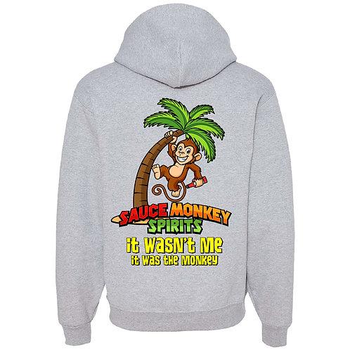 Grey Monkey Hoodie