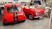 BMC Morris Mini Cooper Leyland Clubman GT car parts