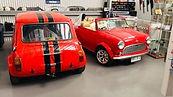 BMC Morris Mini Cooper Leyland Clubman GT car parts