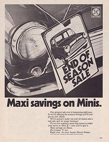 Morris Mini Cooper Leyland Clubman GT LS Moke car parts