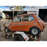 Cadiz Orange Australian Mini Clubman GT