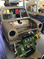 Morris Mini Cooper Leyland Clubman car parts