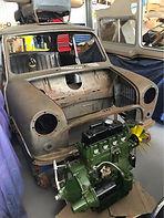 Morris Mini Cooper Leyland Clubman car parts