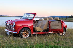 Convertible Morris Mini Cooper S