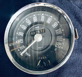 Morris Mini Cooper S Speedo