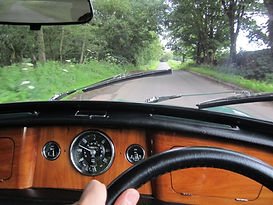 Morris Mini Cooper dashboard