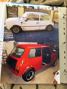 Leyland Mini Clubman GT Australia Red 77