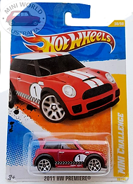 Hot Wheels Mini Challegne 2011 Hw Premie
